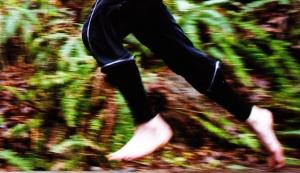 2013.3.9 Bare foot running